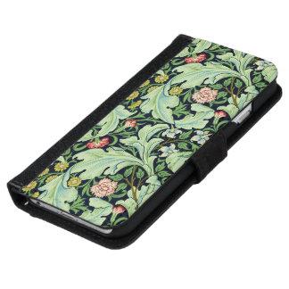 緑のAcanthusのiPhone 6/6Sのウォレットケース iPhone 6/6s ウォレットケース