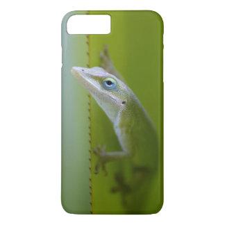緑のanoleはarborealトカゲです iPhone 8 plus/7 plusケース