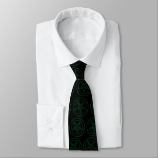 緑のBaphomet ネクタイ