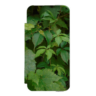 緑のbohoは秋のケルト語を残します incipio watson™ iPhone 5 財布 ケース