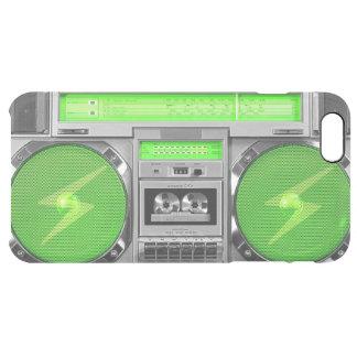 緑のboombox クリア iPhone 6 plusケース