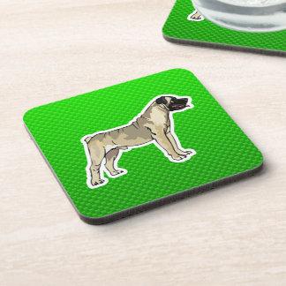 緑のBullmastiff コースター