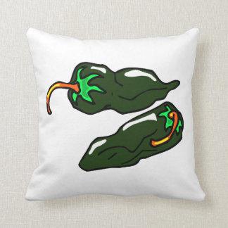 緑のchilisは2コショウ緩みます クッション