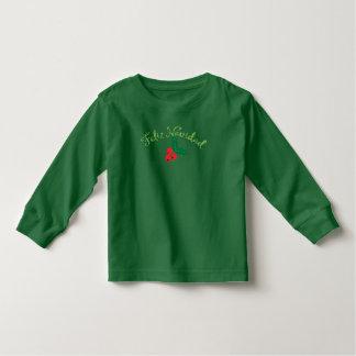 緑のFeliz Navidad トドラーTシャツ