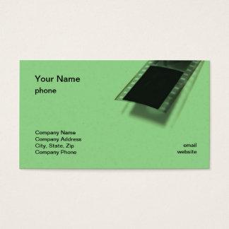 緑のFilmstripの名刺 名刺