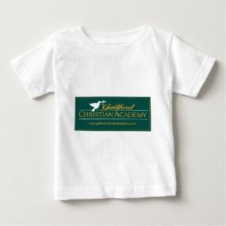 緑のGuilfordキリスト教アカデミーのロゴの服装 ベビーTシャツ