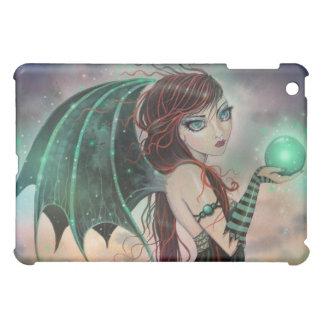 緑のiPadの箱のゴシック様式ファンタジーの吸血鬼の妖精 iPad Miniカバー