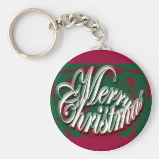 緑のKeychainのメリークリスマス キーホルダー