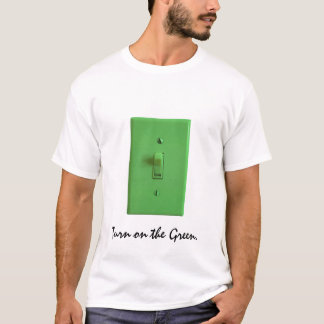 緑のLightswitch Tシャツ