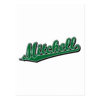 緑のMitchell ポストカード