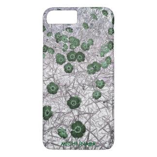 緑のNadeshiko。 iPhone 8 Plus/7 Plusケース