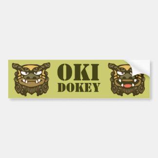 緑のOki Dokey バンパーステッカー