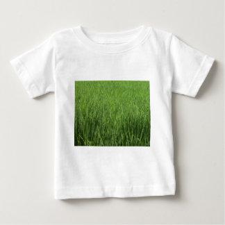 緑のpadiの分野 ベビーTシャツ