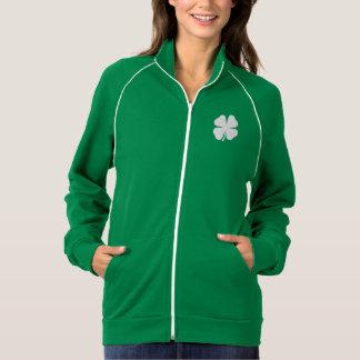 緑のSaint patricks dayのジャケット|のアイルランドのシャムロック ジャケット