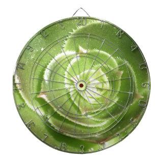 緑のsucculent ダーツボード