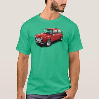 緑のTシャツの緑のイギリスの小型車 Tシャツ