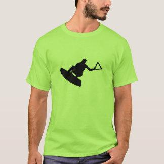 緑のWakeboarder Tシャツ