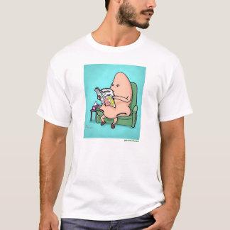 """緑のWeeniiの""""人気があるな湾曲""""のワイシャツ Tシャツ"""