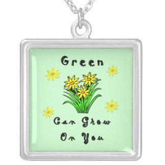 緑はあなたで育ちます ペンダント