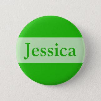 緑はあなたの名前を加えます 5.7CM 丸型バッジ