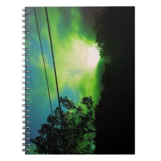緑はノートを曇らせます ノートブック