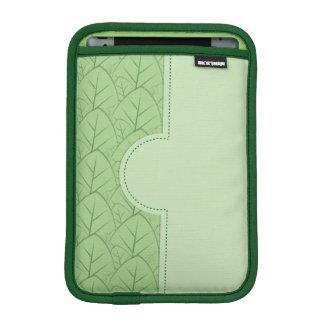 緑はパターンを残します iPad MINIスリーブ
