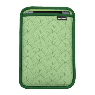 緑はパターンipadに小型袖を残します iPad miniスリーブ