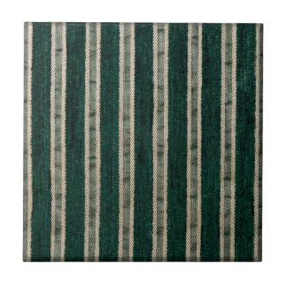 緑は家具製造販売業生地を縞で飾ります タイル