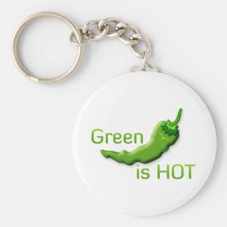 緑は熱いです キーホルダー