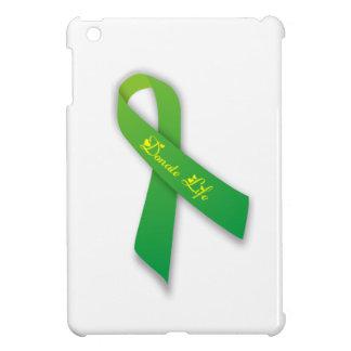 緑は生命リボンを寄付します iPad MINI カバー