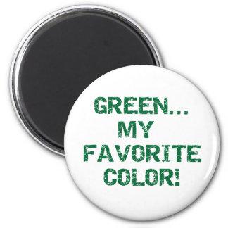 緑は私のお気に入りのな色です マグネット