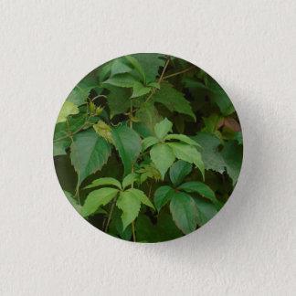 緑は秋のbohoにかわいいケルト語を残します 3.2cm 丸型バッジ