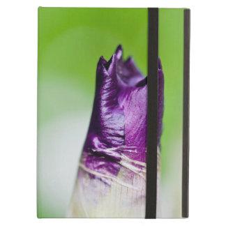 緑は紫色を歓迎します iPad AIRケース