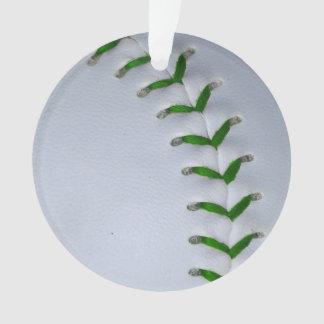 緑は野球/ソフトボールをステッチします