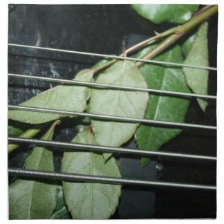 緑は5ひも低音に楽器を残します ナプキンクロス