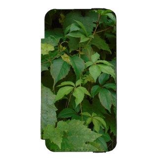 緑はbohoの秋のケルト語を残します incipio watson™ iPhone 5 ウォレット ケース