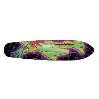 緑カエルのスケート板 スケートボード
