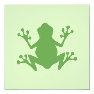 緑カエル カード