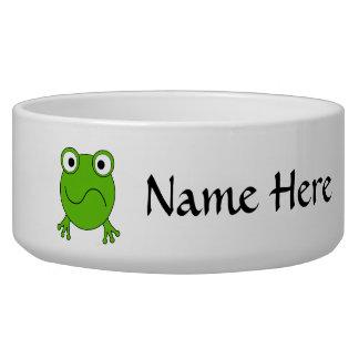 緑カエル。 混同される見ること