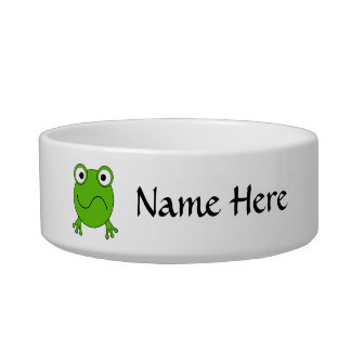 緑カエル。 混同される見ること ボウル