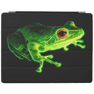緑カエル iPadスマートカバー