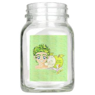 緑ジュースの恋人 メイソンジャー
