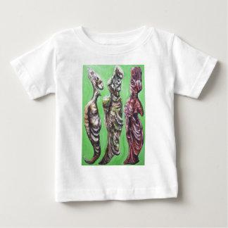 緑ダイアログ(プラトン、Socratesおよび彼の妻) ベビーTシャツ