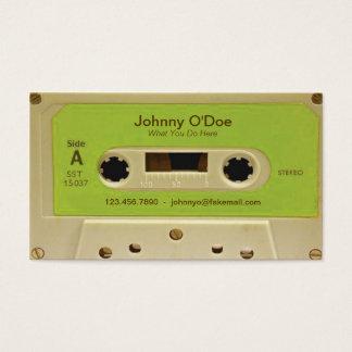 緑テープ 名刺