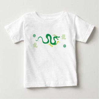 緑ドラゴンの蛇 ベビーTシャツ