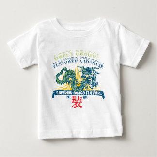 緑ドラゴンケルン ベビーTシャツ