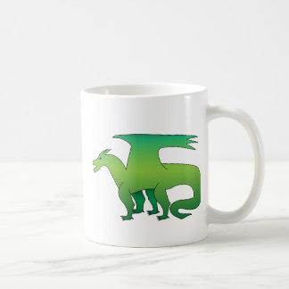 緑ドラゴン コーヒーマグカップ