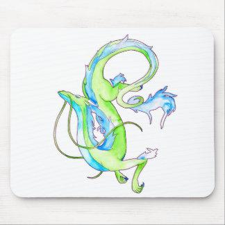 緑ドラゴン マウスパッド