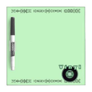 緑ビニール45の記録1965年 ホワイトボード