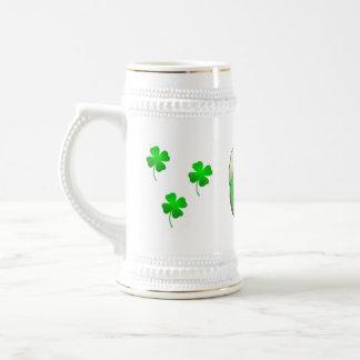 緑ビール ビールジョッキ